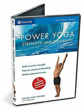 POWER YOGA Strength and Flexibility (DVD) Rodney Yee workout tension peace NEW