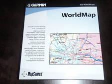 Garmin MapSource WorldMap Version 3.02 - New in Box