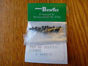 Bowser Parts #440038 / PK.12_4 40 X 3/16 PAN HD SELFTAP SCREWS