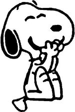 Snoopy Decal (Email us color  otherwise we ship White)