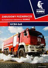 Kamaz Fire Trucks brochure catalogue 2018 Feuerwehr Pompiers