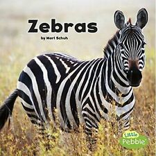 Zebras (Black and White Animals) by Schuh, Mari | Paperback Book | 9781515733935