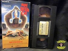 Night Of The Death Cult VHS TESTED ~ 1987 Sony Release ~ FREE S/H