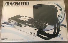 NZXT RL-KRG10-W1 (Black) KRAKEN™ G10 GPU COOLER BRACKET New In Sealed Box