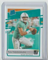 2020 Donruss Rated Rookie Tua Tagovailoa #302 Miami Dolphins Rookie Card RC