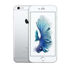 NEW SILVER VERIZON GSM UNLOCKED 128GB APPLE IPHONE 6S SMART PHONE JS11 B