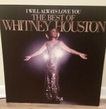 Whitney Houston display poster board * Rare! promo only