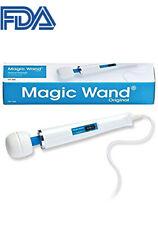 Rechargeable Multispeed Full Body Massage Wand Silicone Massager Vibrator