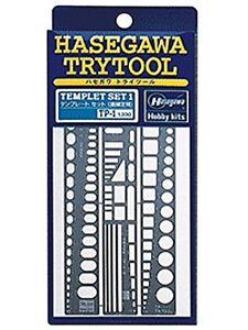 Hasegawa Try Tool template set straight plastic model tool TP1
