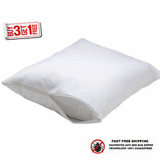 2 hotel hypoallergenic pillow case zippered bed bug protector buy 3 get 1 free
