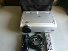 OPTOMA DX608 DLP PORTABLE PROJECTOR, 152 ORIGINAL HOURS!! WORKS GREAT!!