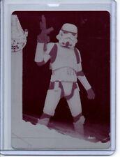 Star Wars Solo Magneta Printing Plate Card # 10 Stormtrooper