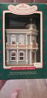 1988 Hallmark Hall Bro's Card Shop Nostalgic Houses Series Ornament NIB NEW