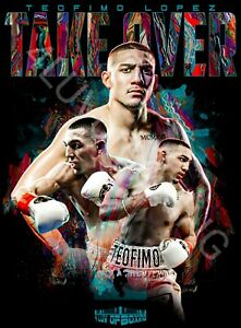Teofimo Lopez 4LUVofBOXING Poster New Boxing wall art