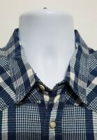 Lucky Brand Men's California Fit Pearl Snap Western Shirt Size Large