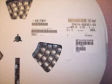 QTY (500) 330uf 25V 105' HI TEMP SMD ALUMINUM ELECTROLYTIC MVK25VC330MJ10 NCC