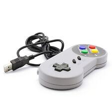 1PC USB Controller For PC/Mac Super Nintendo Games Classic Gamepad Joypad SNES