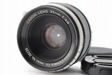 【EXC+++】Canon M39 L39 LTM Leica Screw Mount 35mm f/2.8 MF Lens from Japan 0391N