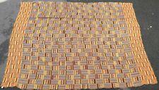 Textile weaving ancient African Africa Ghana tribal ewe silk 1900