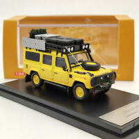Master 1:64 Land Rover Defender 110 Diecast Car Models Toys Dirty Mud Collection