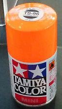 Tamiya TS-96 FLUORESCENT ORANGE Spray Paint Can  3.35 oz. (100ml) 85096