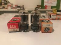 Lot Of 2  12GC6 tubes Tested Strong RCA GE