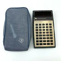 Vintage Texas Instruments TI-30 Calculator + Original Case, Tested Works *READ