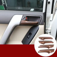 Pine Wood Grain For Toyota Land Cruiser Prado FJ150 10-18  Door Handle Trim