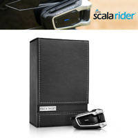 Cardo Scala Rider Packtalk Pack Talk Solo Motorcycle Bluetooth Intercom Mesh DMC
