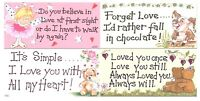 Romantic Hanging Signs Plaques Wall Door Funny Birthday Christmas Gift Love