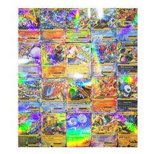 Pop 20pcs Pokemon EX Card All MEGA Holo Flash Trading Cards Charizard Venusaur