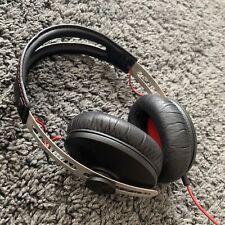 Sennheiser Momentum 1.0 Over Ear Wired Headphones Red Black