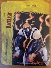 Marvel Overpower Image Backlash Altered Physiology NrMint-Mint Card