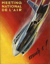Mach 1, Meeting National De L'Air , Jahr 1953, in Perfekter État