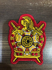 BRAND NEW DEMOLAY PATCH 3 INCHES, MASONIC DEMOLAY PATCH, MASONIC PATCH