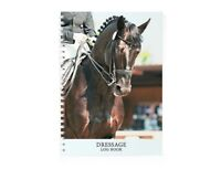 Dressage Log Book - an equestrian record book for riders by Equine Log Books