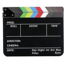 Neewer dry Erase Director's Film Clapboard Cut Action Scene Clapper Board Slate