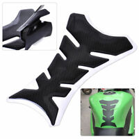 Hot 3D Carbon Fiber Motorcycle Gel Oil Gas Fuel Tank Pad Protector Sticker Decal