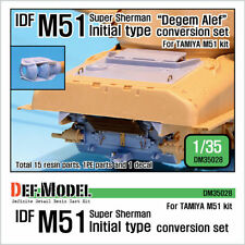 IDF M51 SUPER SHERMAN initiaux de type Conversion Set (pour Tamiya 1/35)