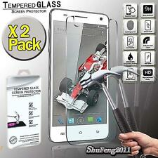 2 Pack Tempered Glass Film Screen Protector Cover For Xolo Q3000