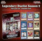 Legendary Duelists Season 2 - Choose your Ultra & Secret Rare Singles - LDS2