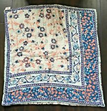 NWT $88 ANTHROPOLOGIE Floral Cotton Euro Sham 26 x 26