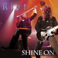 RIOT - SHINE ON (REISSUE CD/DVD)  2 CD NEU