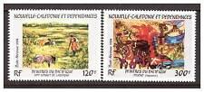 Neukaledonien 748-49 Kunst postfrisch