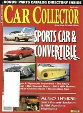 Car Collector April 2001--Alfa Chevrolet Dodge Ferrari Olds Plymouth Studebaker