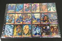 X- Men 1996 Fleer Complete Set of 100 MNT Cards