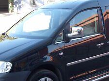 VW Caddy Chrome Châssis de Fenêtre Kit de Garniture 4 Pièces 2004-2016 A Partir
