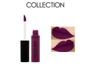 COLLECTION VELVET KISS MOISTURISING LIP CREAM - 6 BLACKBERRY x 2 & FREE LIPLINER