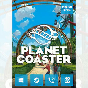 Planet Coaster for PC Game Steam Key Region Free