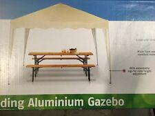 GAZEBO in alluminio pieghevole